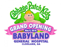 Free Family Activities during Grand Opening of New BabyLand General Hospital (a.k.a. Birthplace of Cabbage Patch Kids) on May 8