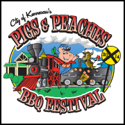 Pigs & Peaches BBQ Festival in Kennesaw, August 22 & 23, 2014