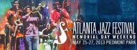 Atlanta Jazz Festival at Piedmont Park on May 26 & 27, 2018
