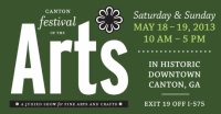 Canton Festival of the Arts: May 19 & 20, 2018
