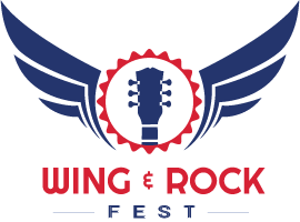 wing and rock fest logo