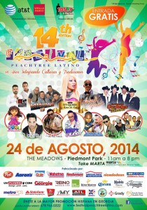 festival peachtree latino 2014