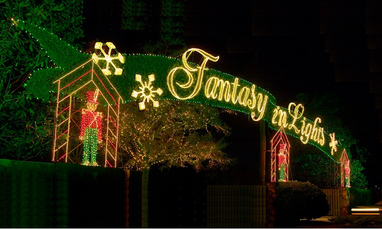 Discounts fantasy in lights at callaway gardens atlanta - Callaway gardens festival of lights ...
