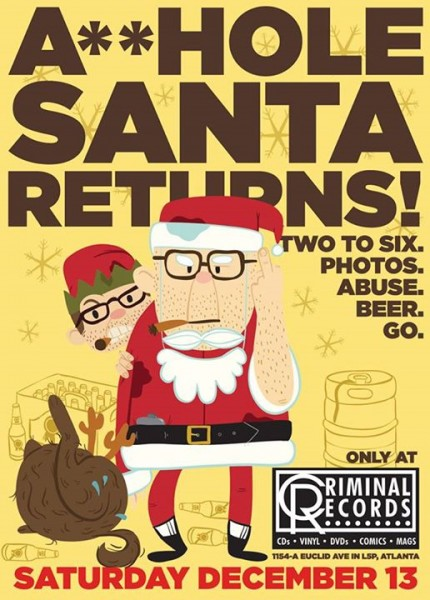 ahole santa criminal records
