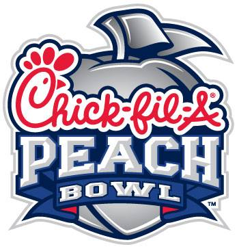 chickfila peach bowl logo