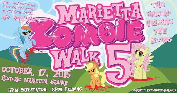 marietta zombie walk 2015