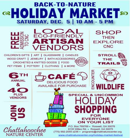 cnc holiday market 2015