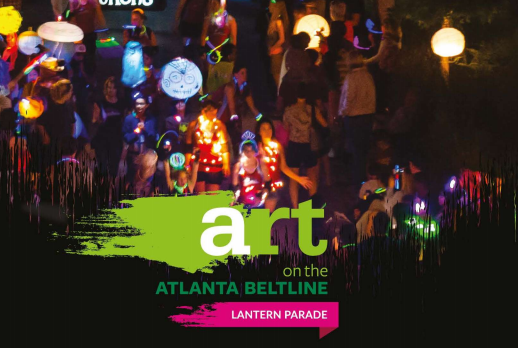 lantern parade atl art on beltline