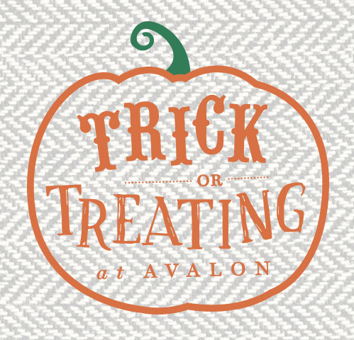 trick or treat at avalon