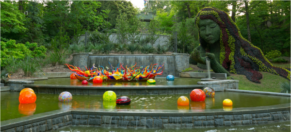 Discounts Chihuly In The Garden At The Atlanta Botanical Garden Atlanta On The Cheap