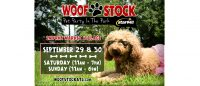 Woofstock: Pet Party in the Park in Smyrna on September 29 & 30, 2018
