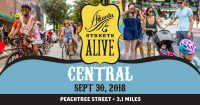Atlanta Streets Alive Central on Peachtree on September 30, 2018