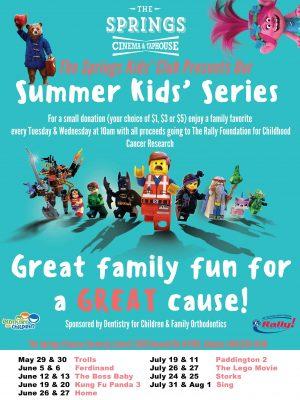 Summer Kid's Movie Series at the Springs Cinema & Taphouse in Sandy Springs