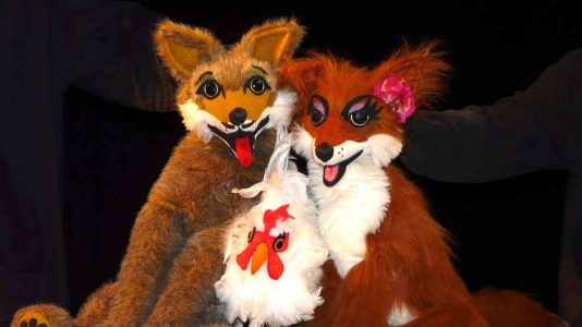 brother coyote sister fox center for puppetry arts discounts