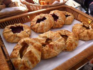 Fresh baked goods at Grant Park Winter Farmers Market
