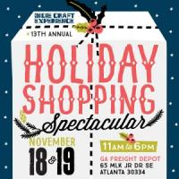 Indie Craft Experience Holiday Shopping Spectacular at Georgia Freight Depot on November 18 & 19, 2017