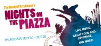 Nights on the Piazza = Free Concerts on Thursday Nights