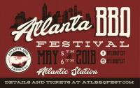 Discounts: Atlanta BBQ Festival at Atlantic Station on May 5 & 6, 2018