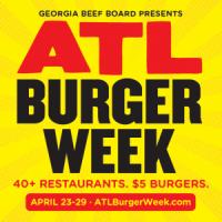 Atlanta Burger Week = $5 Burgers through April 29, 2017