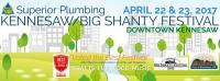 Big Shanty Festival in Kennesaw on April 22 & 23, 2017