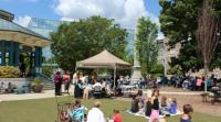 Free Blue Sky Concerts in Decatur on Wednesdays in May 2016