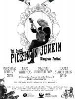 Pickin' & Junkin' Bluegrass Festival on August 21