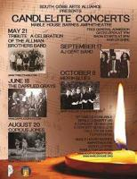 Free Candlelite Concerts at the Mable House Amphitheatre in Mableton