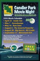 Candler Park Movie Nights: 2016 Season