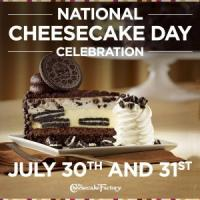 National Cheesecake Day, Free Tea Day, Deals for Krispy Kreme and Regal, & More