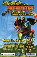 Cherokee County Mother's Day Pow Wow & Indian Festival in Canton on May 13 & 14, 2017