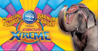 Discounts: Ringling Bros. and Barnum & Bailey's Circus Xtreme at Infinite Energy Arena in Duluth