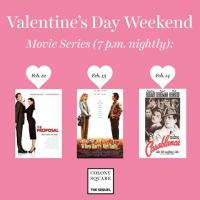 Free Valentine's Day Weekend Movie Series at Midtown's Colony Square