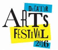 Decatur Arts Festival on May 28 & 29 and Decatur ArtWalk on May 27, 2016