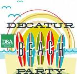 Decatur Beach Party on Friday, June 20, 2014