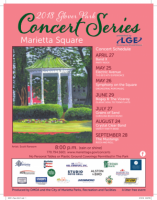 Free Glover Park Concert Series in Marietta Square: 2018 Season