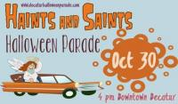 Haints & Saints Halloween Parade & Festival in Decatur on October 30, 2016