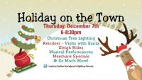 Holiday on the Town in Town Brookhaven on November 30, 2017