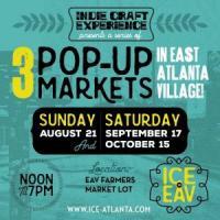 ICE in EAV: Pop-Up Market at the East Atlanta Village Farmer's Market on September 17 & October 15, 2016