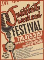 Juneteenth Weekend Extravaganza: Evening Under the Stars on June 16, Juneteenth Cultural Festival on June 17, & GospelFest on June 18, 2017