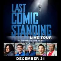 Ticket Discount to NBC's Last Comic Standing Live Tour: Laugh Your Way Out of 2010 on New Year's Eve