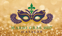 Mardis Gras Stroll at Avalon in Alpharetta on February 28, 2017