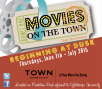 Free Movies on the Town on Thursdays in Town Brookhaven