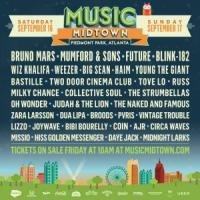 Discounts: Music Midtown at Piedmont Park on September 16 & 17, 2017