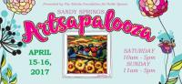 Sandy Springs Artsapalooza on April 15 & 16, 2017