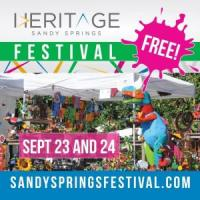 Sandy Springs Festival at Heritage Green on September 23 & 24, 2017