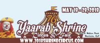 Yaarab Shrine Circus at Jim R. Miller Park in Marietta: May 18-28, 2018