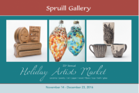 Holiday Artists Market at Spruill Gallery in Atlanta