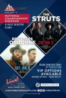 Free Concerts: The Struts & Brothers Osborne at Sports & Social at the Battery Atlanta