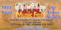 Sweet Auburn Music Fest: October 1 & 2, 2016