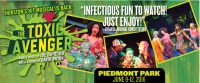 Free Tickets: Horizon Theatre's The Toxic Avenger at Piedmont Park in Atlanta
